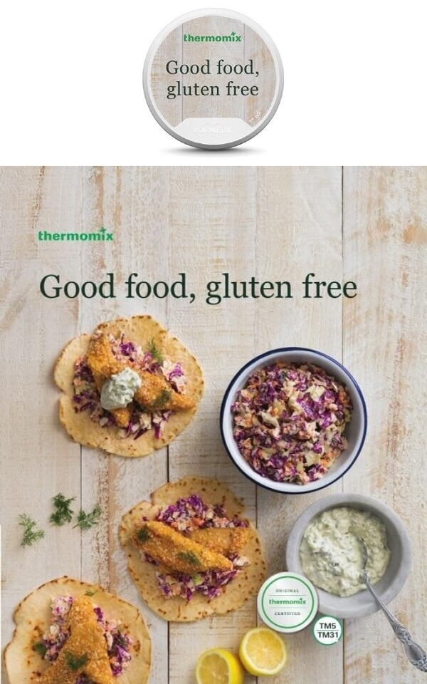 Good Food, Gluten Free Cookbook and Recipe Chip Pack