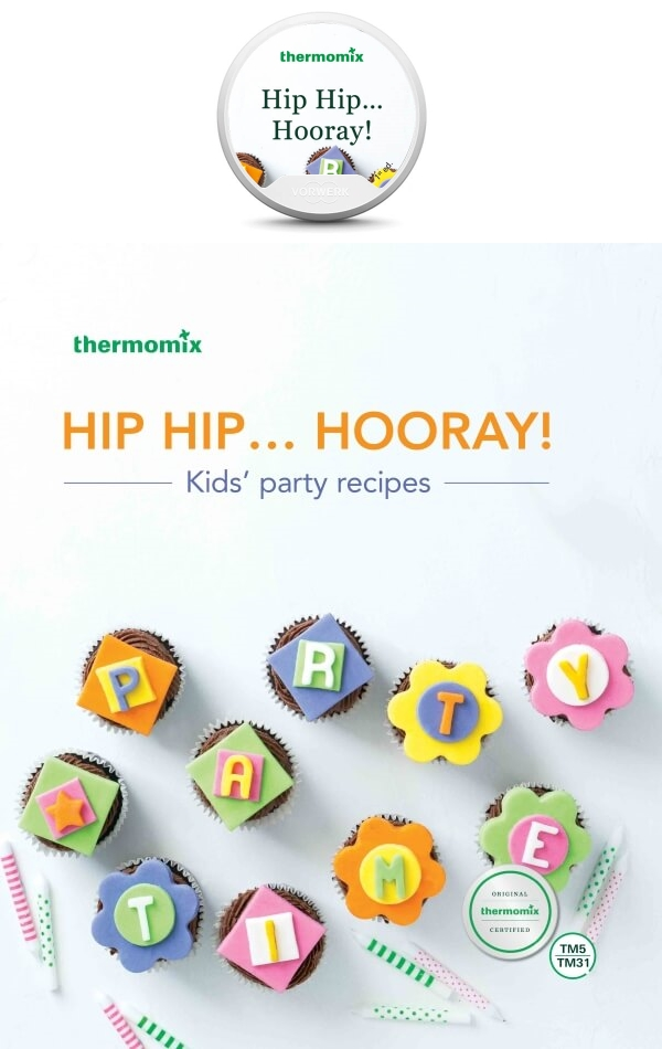 Hip Hip... Hooray! Cookbook and Recipe Chip Pack