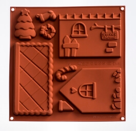 Thermomix ® gingerbread house moulds