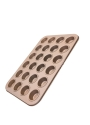 Rose gold mini muffin tray (24 cup)