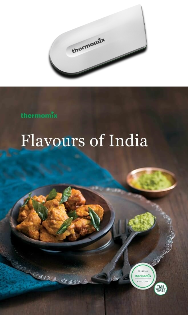 Flavours of India Cookbook and Cook-Key